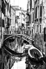 Panel Szklany Venetian Canal. Italy