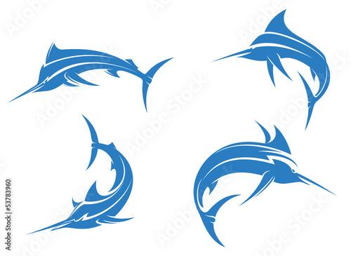 Photo  Big blue marlins