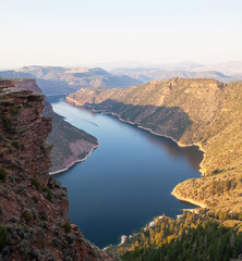 fototapeta Flaming Gorge