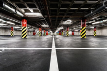 Parking Garage Underground Int...