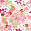 Beautiful floral seamless texture