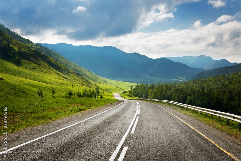 Fototapeta highland road