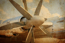 Engine Propeller Aircraft
