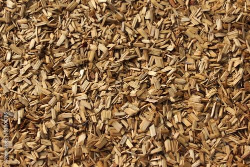 Fotografia, Obraz  Holzhackschnitzel (wood chips)