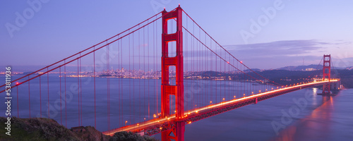 Foto op Aluminium San Francisco Golden Gate Bridge, San Francisco, California
