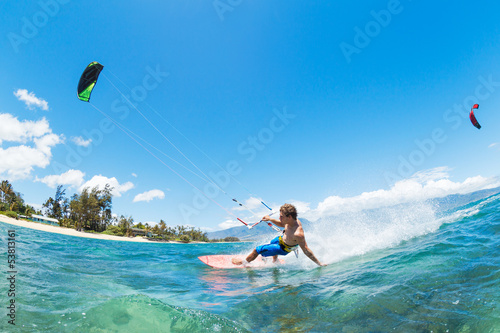 Obrazy Kitesurfing   kite-surfing