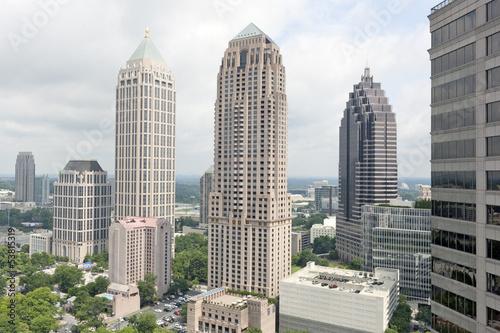Plakat Skyline Zobacz Atlanta, Georgia