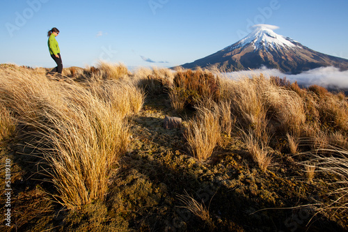 New Zealand trekking Canvas Print