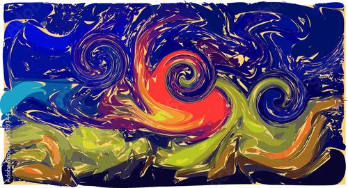 ognisko-na-plazy-impreza-noc-swiatla-niebo-piasek-morze-pejzaz