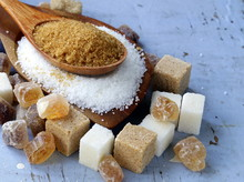 Various Kinds Of Sugar, Brown,...