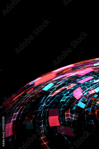 Photo  Abstract modern background