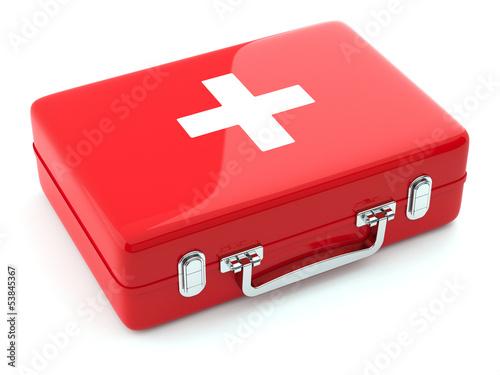 first aid kit Canvas Print