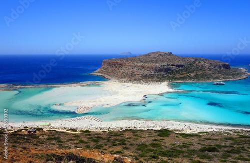 Fotografie, Obraz  Plage de Balos en Crète