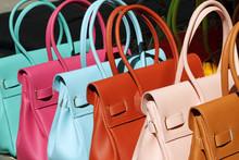 Colorful Leather Handbags Coll...