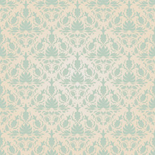 Seamless Vintage Wallpaper Pattern