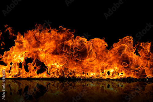 Canvas Prints Fire / Flame fire flames