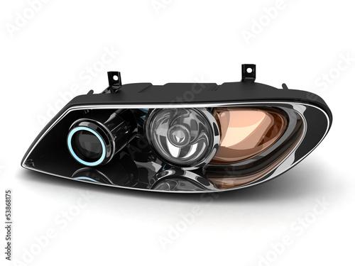 Obraz Headlight car - fototapety do salonu