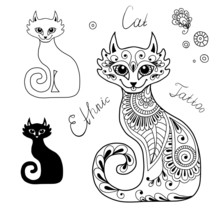 The Cats In The Ethnic Style