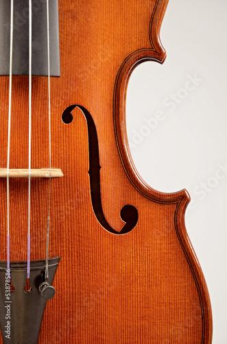 Fotografie, Obraz  violino strumento musicale