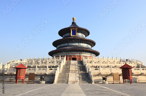 Foto op Canvas Beijing Beijing Temple of Heaven