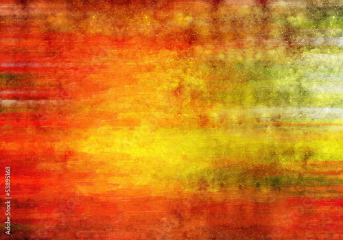 Deurstickers Rood Abstract art background