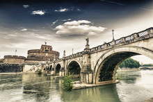Castel Sant'Angelo And Its Bri...