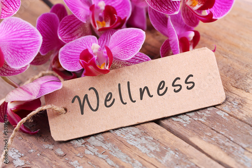 Recess Fitting Orchid Wellness - Label