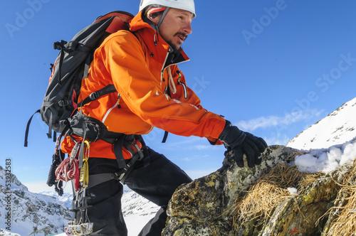 Poster Bergsteiger