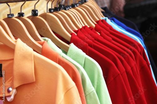 Staande foto Dragen shirts for sale