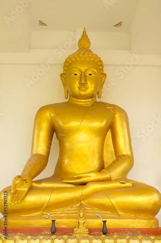 Foto op Plexiglas Indonesië gold buddha statue,Thaland.
