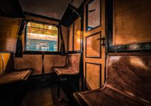 Photo Of Antique Train Interior