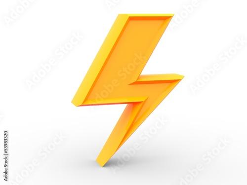 Fulmine Energia Poster