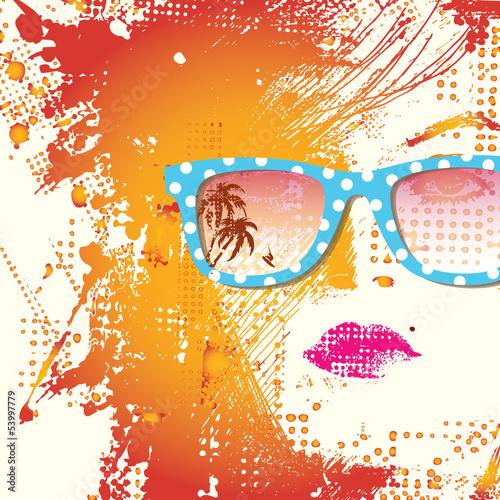 Women in sunglasses #53997779