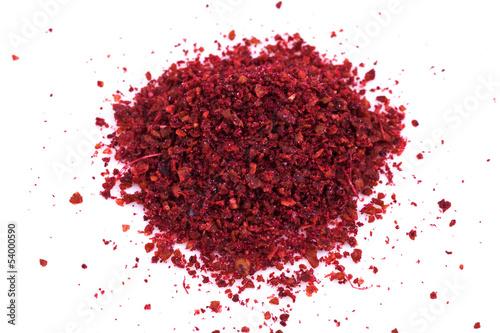 Fotomural ground sumac spice