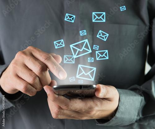 Valokuva  Sending sms