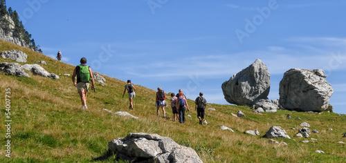 randonnée,détente dans les alpes en chartreuse