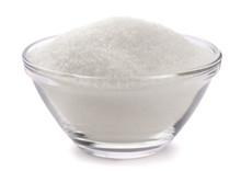 Sugar In Glass Bowl