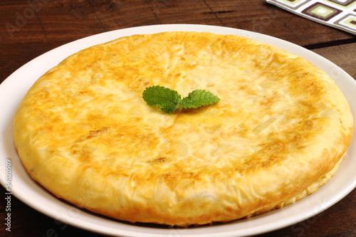 Fotografie, Obraz  Tortilla de patatas