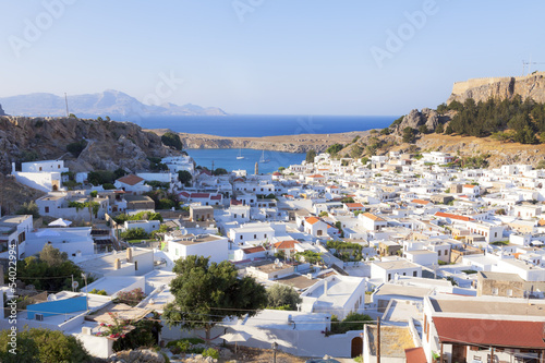 beautiful village of lindos