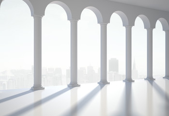 Fototapeta classic hall