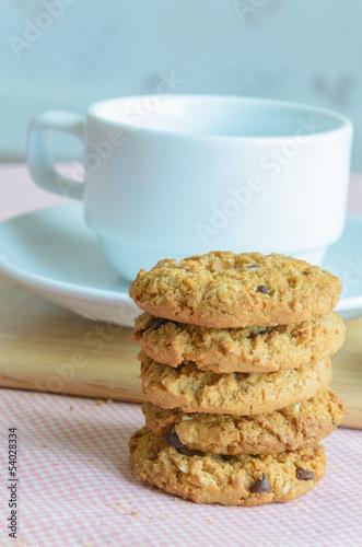 Tuinposter Koekjes Cookie