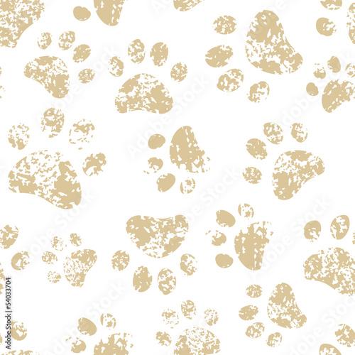 kota-lub-psa-brazu-lapy-druki-na-bialym-bezszwowym-wzorze-wektor