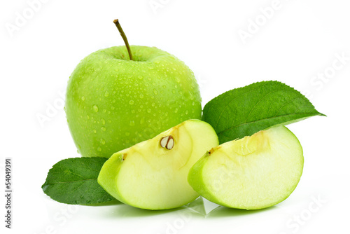Fototapeta Jabłka na białym tle obraz