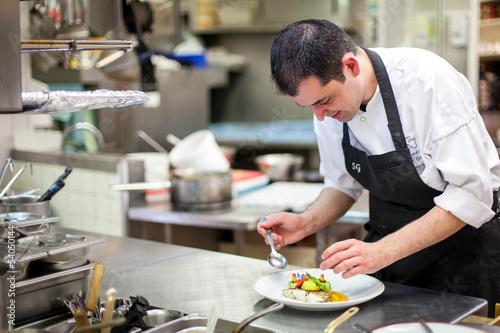 Fotografie, Obraz  Cuisinier
