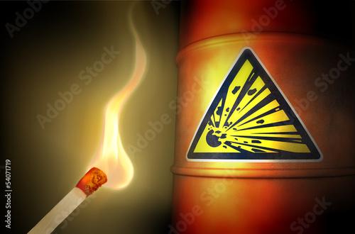 Spiel mit dem Feuer: Explosiv! Wallpaper Mural
