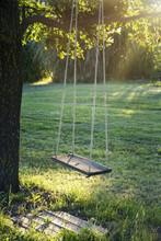 Wooden Vintage Garden Swing
