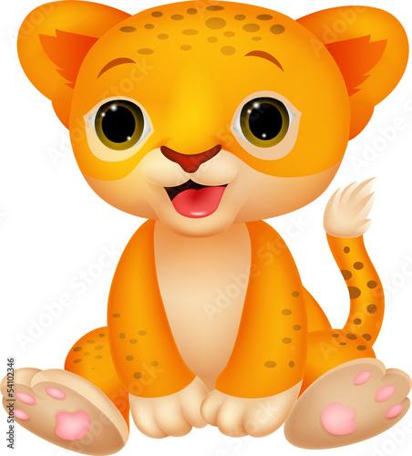 kreskowka-lew-sliczny-dziecko