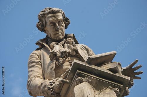 Photographie Statue of Luigi Galvani, Bologna, Italy