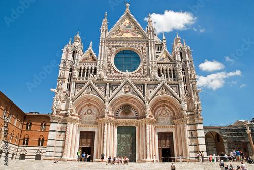 Naklejka premium Siena central cathedral