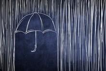 Umbrella And Rain, Conceptual ...